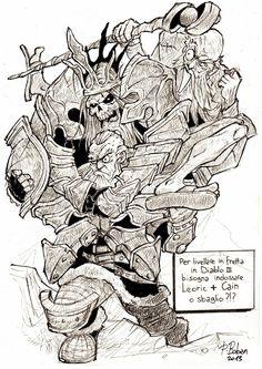Diabolic Strip by Boban Pesov, More exp in Diablo 3 with Leoric & Cain!