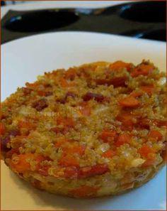 Galette complète quinoa