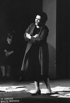 """Interview with Virginia Zeani at 90 """"My brain believes that I'm eternally young"""" - Page 2 of 2 -  Virginia Zeani as Magda in The Consul at the Maggio Musicale Fiorentino, 1972"""