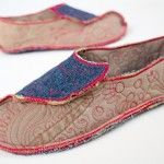 Happy Feet Shoe Pattern in fabric with video demonstration
