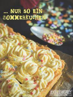 schneller Sommerkuchen ... quick summer cake