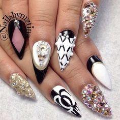 glam rock nails - Buscar con Google