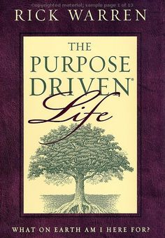 The Purpose Driven Life - such a great book, read it a few years ago and will definitely read it again,