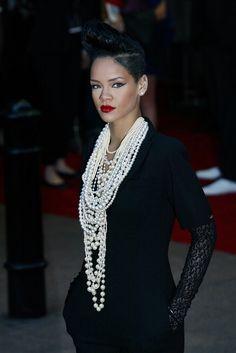 Rihanna - The Quiff Haircut Style