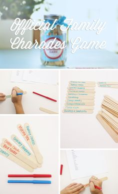Check out this Official Family Charades Game inspired by the #Ziploc #HolidayCollection