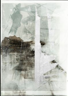 W. Strempler 2014 Abstract Expressionism, Abstract Art, Abstract Paintings, Notan Design, A Level Art, Collage Art, Paper Art, Black And White, Illustration