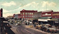 Ardmore, Oklahoma began with a plowed ditch for a Main Street in the summer of 1887. It owes much of its existence to the construction of the Santa Fe Railroad through the area during that time.