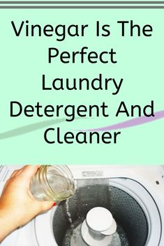 Household Cleaning Tips, Diy Cleaning Products, Cleaning Solutions, Cleaning Hacks, Vinegar In Laundry, Laundry Detergent, Fabric Softener Sheets, Vinegar Uses, Laundry Hacks