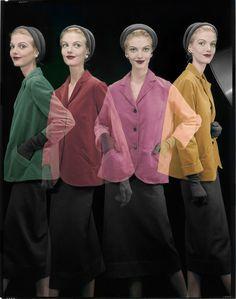 Erwin Blumenfeld — A shake in young fashion Pour la couverture de Vogue US, 1er août 1953 © The Estate of Erwin Blumenfeld, collection Henry et Yorick Blumenfeld