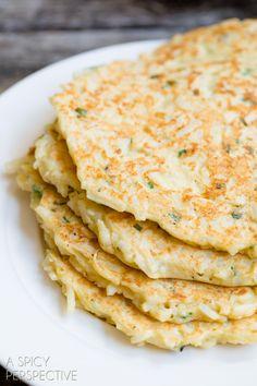 Easy Boxty Recipe: Irish Potato Pancakes with Sauteed Mushrooms and Whiskey Gravy.