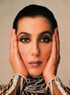 Cher for Vanity Fair, 1968 by Annie Leibovitz