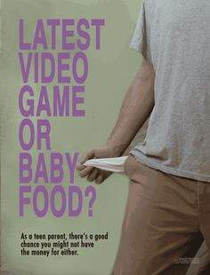 Teen Pregnancy & Parenting Realities Poster Set