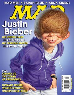Mad Magazine - Bieber