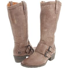 These have a similar look to my beloved Frye's for a fraction of the cost.  $84
