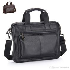 High Quality Genuine Leather Men Bags Waterproof Male Handbags Business Briefcase For Man Shoulder Messenger Bags Za0155 Smileseller Luxury Handbags Leather Handbag From Smileseller, $44.38| Dhgate.Com