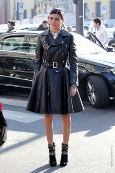 ♡ #Giovannabattaglia #Streetstyle #lookbook #fashion #chic #style #Italian #voguejapan