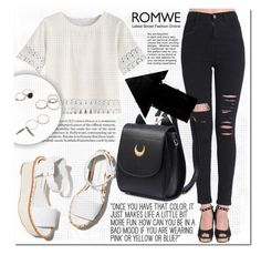 """""""ROMWE CONTEST"""" by mini-kitty ❤ liked on Polyvore featuring Paloma Barceló and romwe"""