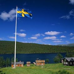 Swedish Countryside - we have driven all over Sweden...and all of it is beautiful and charming