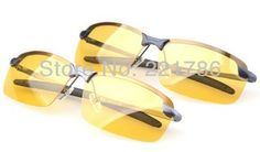 0838c81f5e3 Aliexpress.com   Buy 2014 Brand New Mens Polarized Driving Metal frame  Sunglasses Yellow Lens Night Vsion Driving Glasses Goggles Reduce Glare  from Reliable ...