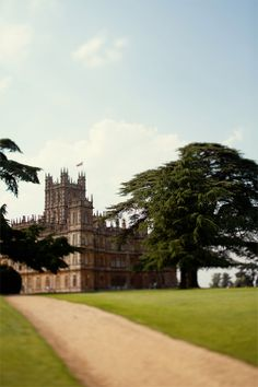 Downton Abbey by Caitlin Van Horn (this blog is beautiful)