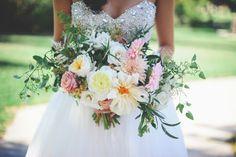 October Bridal Bouquet