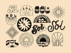Sol Sketches designed by Chelsea Bunn. Connect with them on Dribbble; Matt Anderson, Outdoor Logos, Saint Charles, Silver Spring, Sketch Design, Show And Tell, Logo Branding, Logo Design, Graphic Design