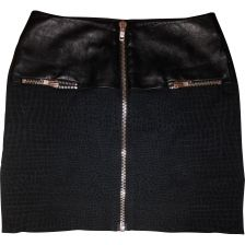 THE KOOPLES Black Skirt