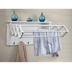 """Awesome """"laundry room storage diy shelves"""" detail is offered on our website. Check it out and you will not be sorry you did. Towel Storage, Wall Storage, Closet Storage, Diy Storage, Wall Shelves, Storage Ideas, Closet Shelves, Organization Ideas, Smart Storage"""