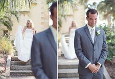First look -- Wedding Photography © Vitalic Photo