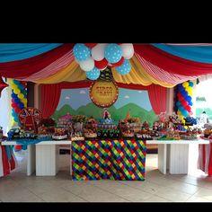 Circus theme #bbprojetos #decor #circusideas #partydesign