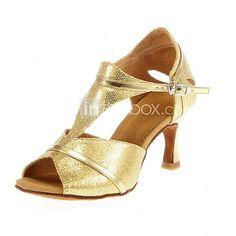 musujące brokat górna kobiet przez człowieka materiał latin buty wydajności / taniec towarzyski (więcej kolorów)   LightInTheBox
