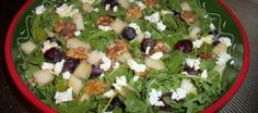 Verse herfstsalade met peer en walnoten | Lekker Tafelen