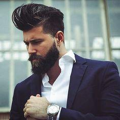 honored beard .