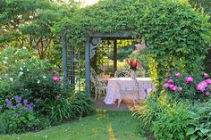 Aiken House & Gardens: Looking Back ~ Our Summer Garden