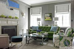 Modern Color Palette Ideas - Christina Murphy Colorful Interiors - House Beautiful