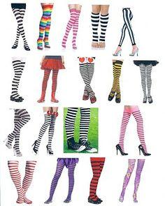 I <3 leggings and long socks :)