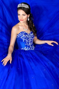 Aliexpress.com : Buy Royal Blue Ball Gown Quinceanera Dresses With Jacket Beaded Red Sweet 16 Sixteen Dresses Tulle Vestidos De 15 Anos QU079 from Reliable dress suits suppliers on Anna Anna  | Alibaba Group