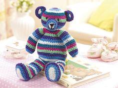 Ravelry: Teddy Bear pattern by Christine Harvey