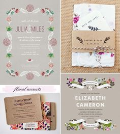 {Wedding Inspirations} Invitations