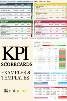 Scorecards Do you know what is a KPI scorecard and how to use it in real business scenarios?Do you know what is a KPI scorecard and how to use it in real business scenarios? Program Management, Change Management, Business Management, Business Planning, E-mail Marketing, Affiliate Marketing, Kpi Dashboard Excel, Excel Dashboard Templates, Dashboard Design