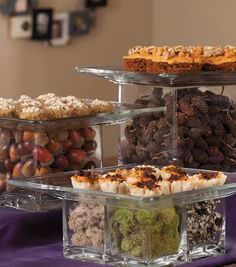 Glass Food Stands how to