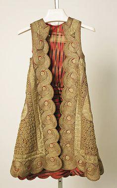Coat  ,     19th century      Greek      silk, metallic