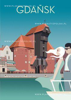 Plakaty z Polski Art Deco Posters, Vintage Posters, Polish Posters, Vintage Travel, Travel Posters, Bugatti, Les Oeuvres, Pin Up, Illustration Art