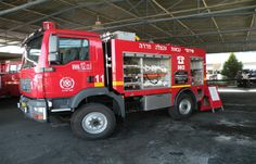 Israel Fire Engines