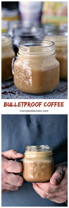 How to Make Bulletproof coffee like a boss! This stuff was a huge hit with hubs, our resident coffee fiend. He gave two energetic thumbs up and asked if we can move into their warehouse for constant access. True story! The guy loves his java.  cravingsofalunatic.com @bulletproofpins #sponsored #elevatetheseason