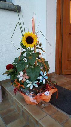 Geldgeschenk Sonnenblume