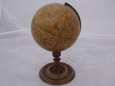 19th century antique desk globe. c. 1840. English.,