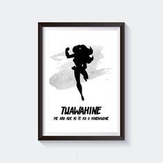 TUAWAHINE Maori Art Print | Etsy Maori Art, Black And White Design, Kiwi, Printable Wall Art, Art Prints, Handmade, Etsy, Style, Art Impressions