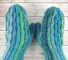 Wonderland Mittens by Janaya Chouinard - The Wonderland Mittens pattern is the free pattern for Week of the 12 Weeks of Christmas Crochet-Along (CAL) hosted by The Hooked Haberdasher, Charmed By Ewe and Pattern Paradise; and sponsored by Red Heart Yarns. Crochet Mitts, Crochet Mittens Pattern, Crochet Gloves, Crochet Scarves, Free Crochet, Knit Crochet, Crochet Patterns, Fun Patterns, Easy Crochet
