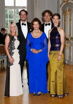 Swedish Queen Silvia attends the 15th Anniversary Of World Childhood Foundation on 23 August 2014 in Konstanz, Germany